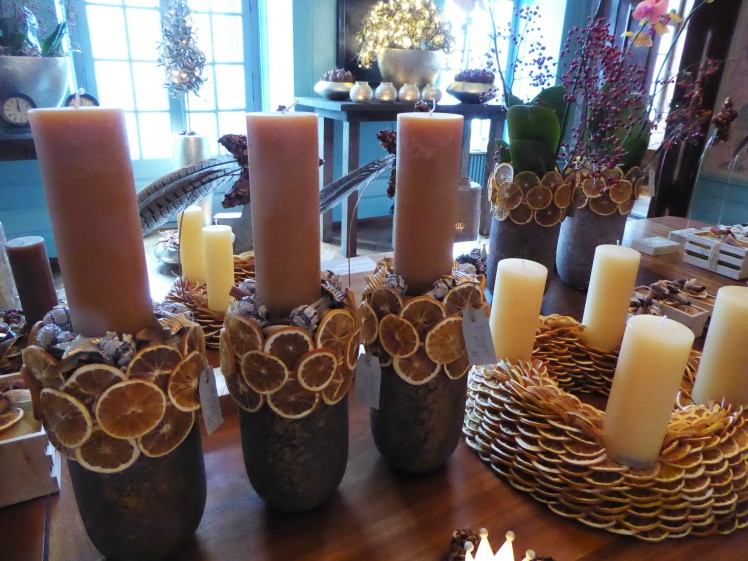Kerzen Weizenkorn Advent Adventskranz
