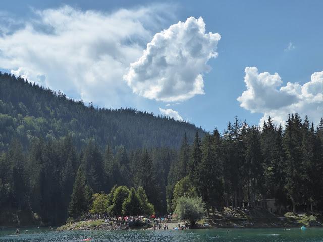 Caumasee Wolken