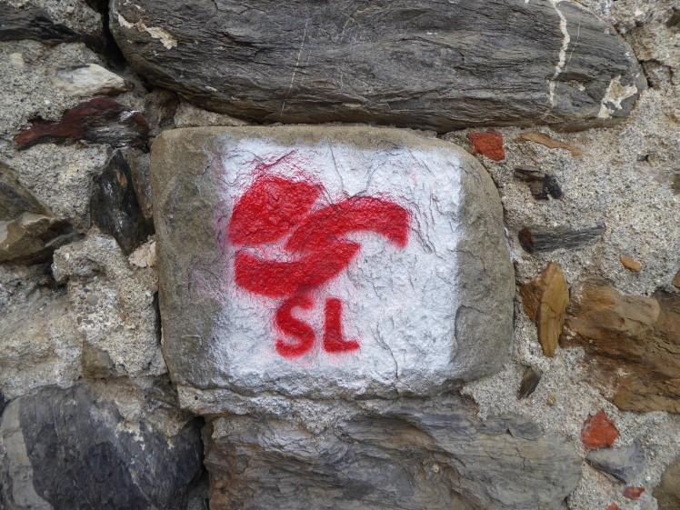 Wanderzeichen SL