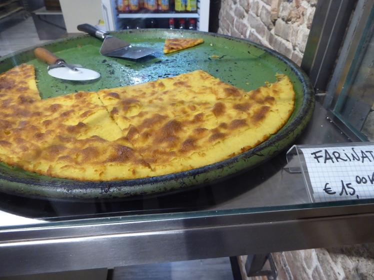 Farinata Ligurien Genua
