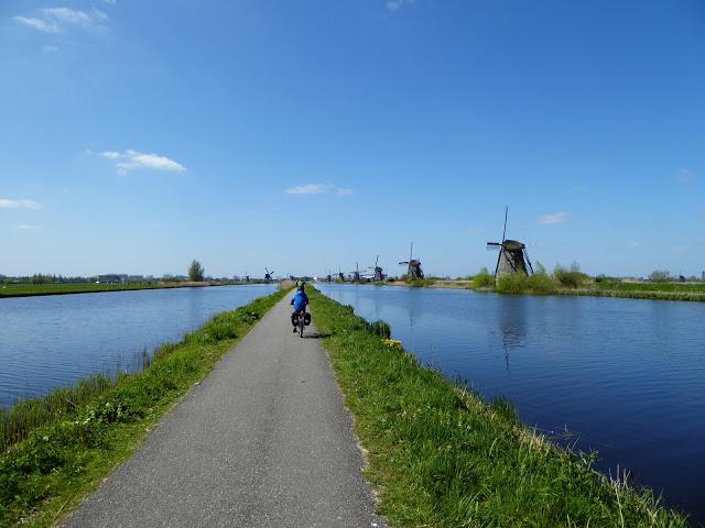 Rheinradweg Kinderdijk
