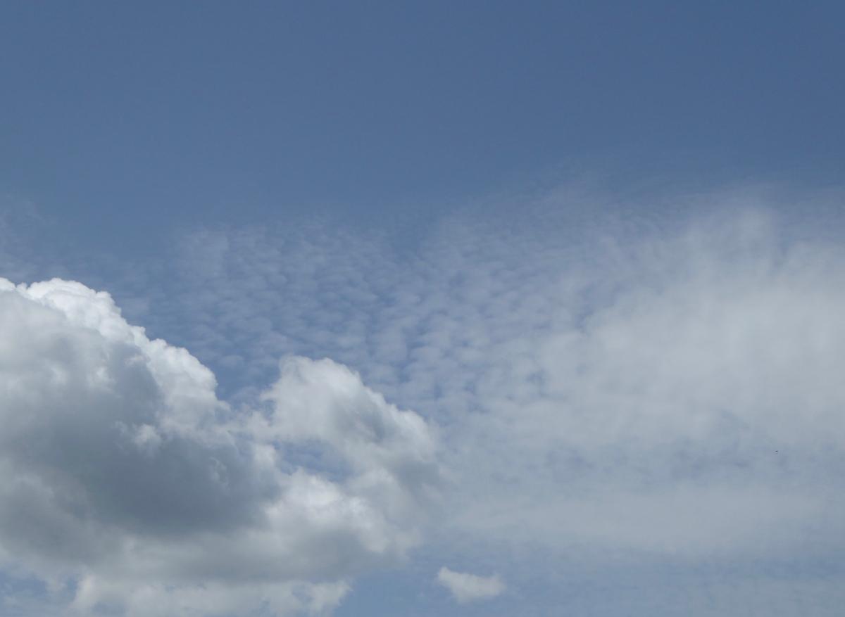 Der Himmel ist überall gleich.