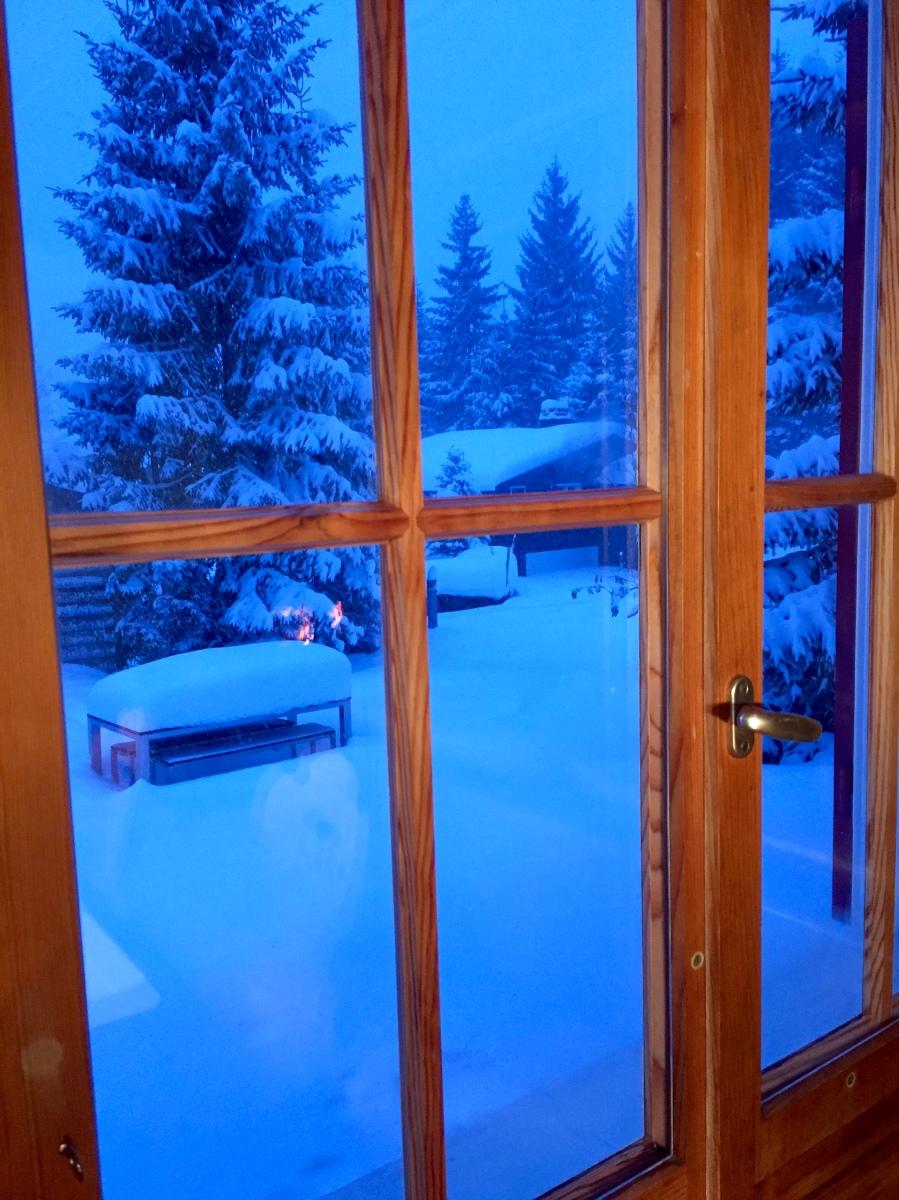 Winterwunderwelt. [heimelig]