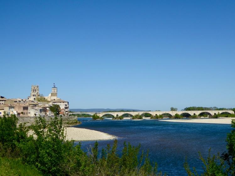 Rhoneradweg Pont Saint-Esprit